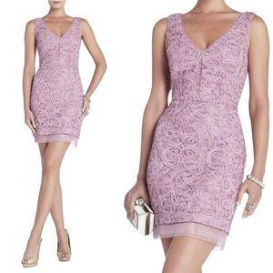 NWT BCBGMaxAzria Dusty Lavender Marissa Dress